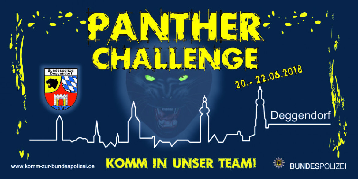 Panther Challenge Plakat