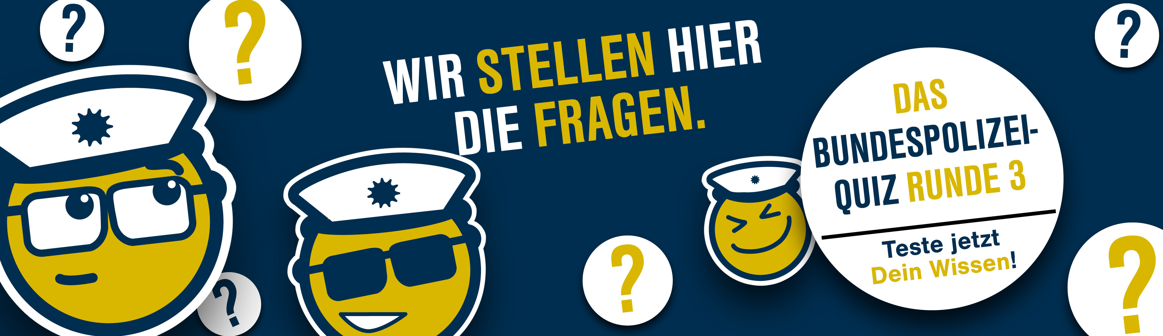 Header - Bundespolizei-Quiz Runde 3